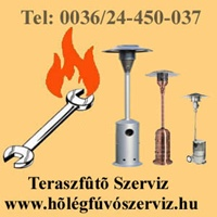 TERASZFŰTŐ SZERVIZ